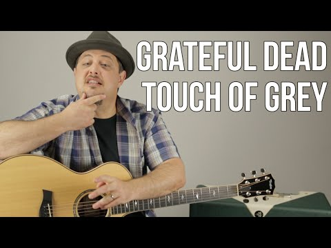 Grateful Dead - Touch of Grey - How to Play on Guitar - Guitar lesson, Tutorial
