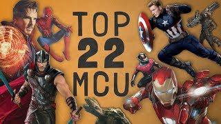 Top 22 Marvel Cinematic Universe (2019) Najlepszy film w MCU to...