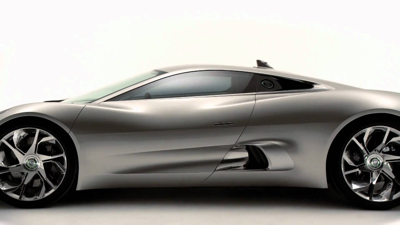 How To Make Your Car Faster >> Jaguar C-X75 concept - YouTube