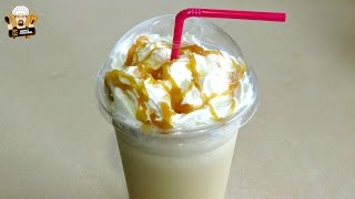 HOW TO MAKE A CARAMEL FRAPPUCCINO