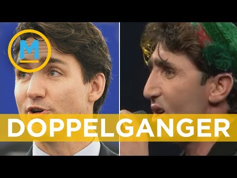 El increíble parecido entre Justin Trudeau y un cantante afgano
