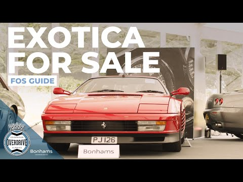 Smith & Sniff guide to the Bonhams Festival of Speed auction