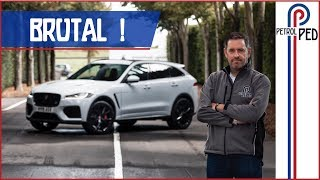 2019 Jagaur F Pace SVR - Brutal BUT something HUGE is missing !!