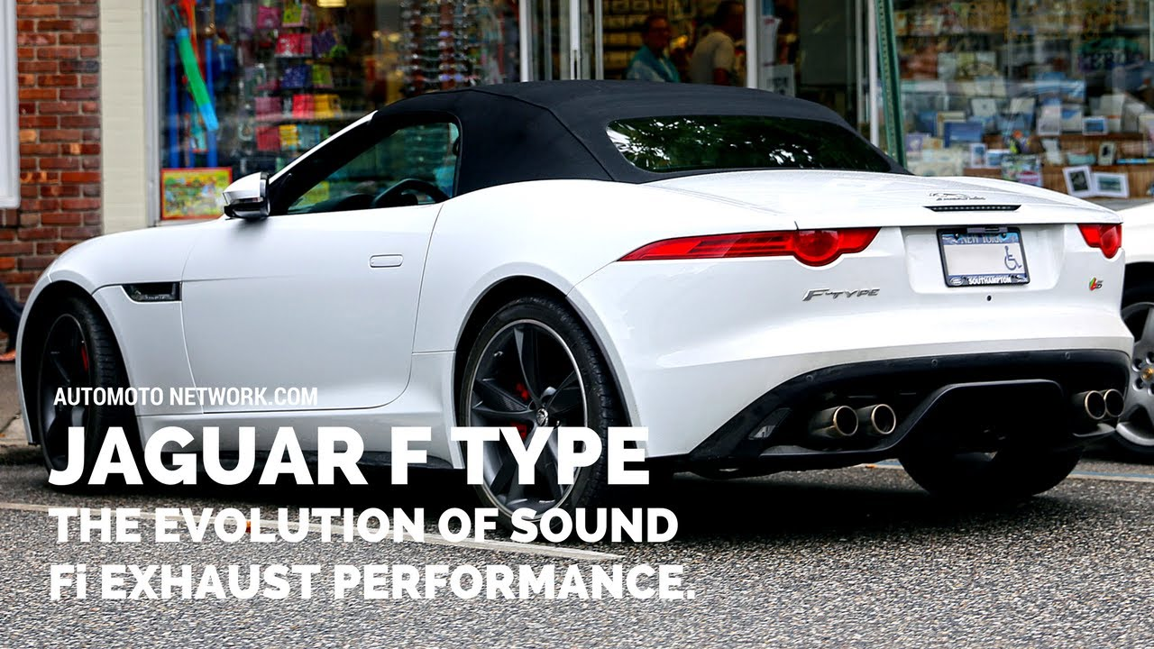 Jaguar F Type Sound Check Evolution Of Sound A True Jaguar