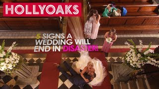 Hollyoaks: 5 Signs A Wedding Day Will End In Disaster