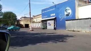 Проезд по главному конвейеру ГАЗ. Юбилей Волга 60.