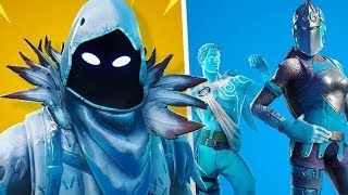 FORTNITE-NEW PACK OF LEGENDARY ICE SKINS (RAVEN, ANGEL AND KNIGHT RUBRA)