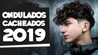 Cortes de Cabelo Masculino ONDULADO e CACHEADO pra 2019 - Tendências