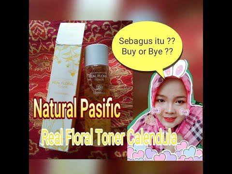 Honest Review Natural Pasific Real Floral Toner Calendula (Detail)    Miftahul Jannah