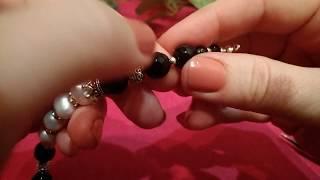 Подробный мастер класс: браслет на ювелирном тросике за 15 минут
