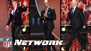 The Moment 2017 Hall of Famers Find Out They've Made It | NFL Network | Gold Jacket Class of 2017