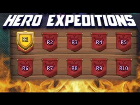 Castle Clash High Might Heroes Expedition