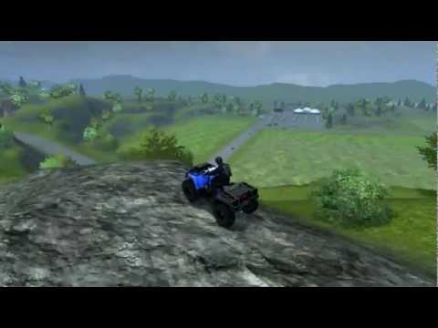 Farming Simulator 2013 | Jumping with ATV