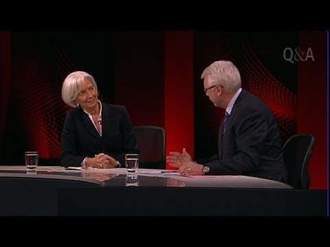 Q&A - An Audience With Christine Lagarde