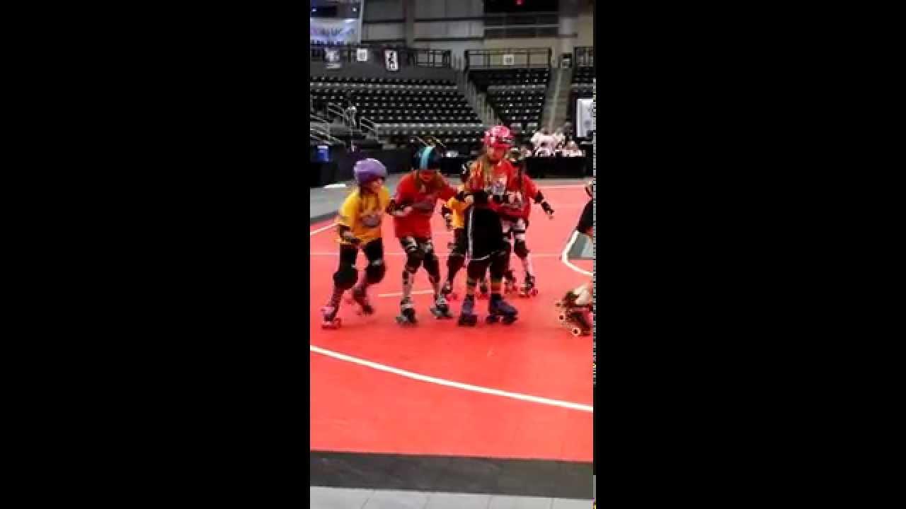 Roller skating omaha - Omaha Junior Roller Derby Halftime D1 Playoffs
