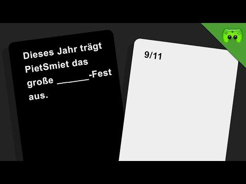 GROSSES PIETSMIET FEST 🎮 Cards Against Humanity
