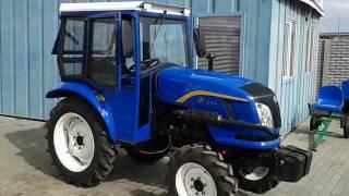 Купить Мини-трактор Донгфенг-244 с кабиной, сделанной в Украине  minitrak.com.ua(, 2017-03-17T10:20:42.000Z)