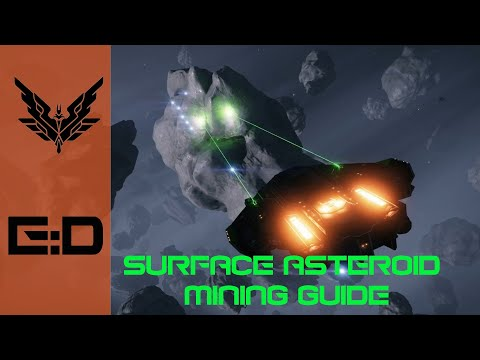 Getting Started With Asteroid Surface Mining! There's Credits In Them Rocks!