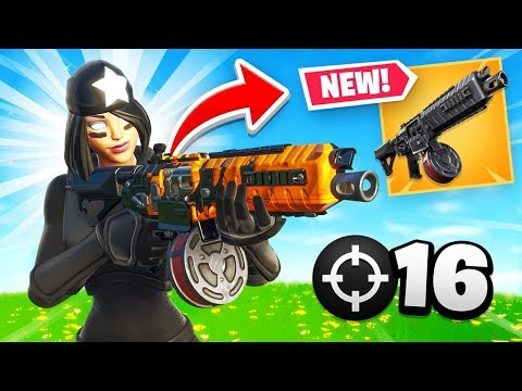 Fortnite Now Has An Automatic Shotgun...