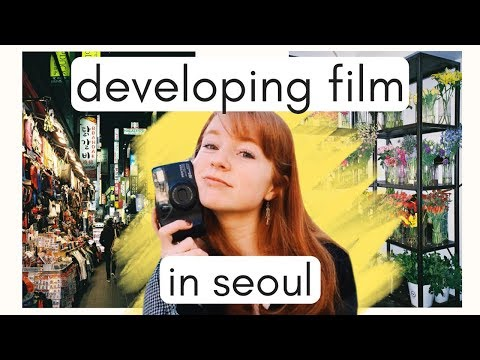 Where to Buy and Develop 35mm Film in Seoul, Korea VLOG