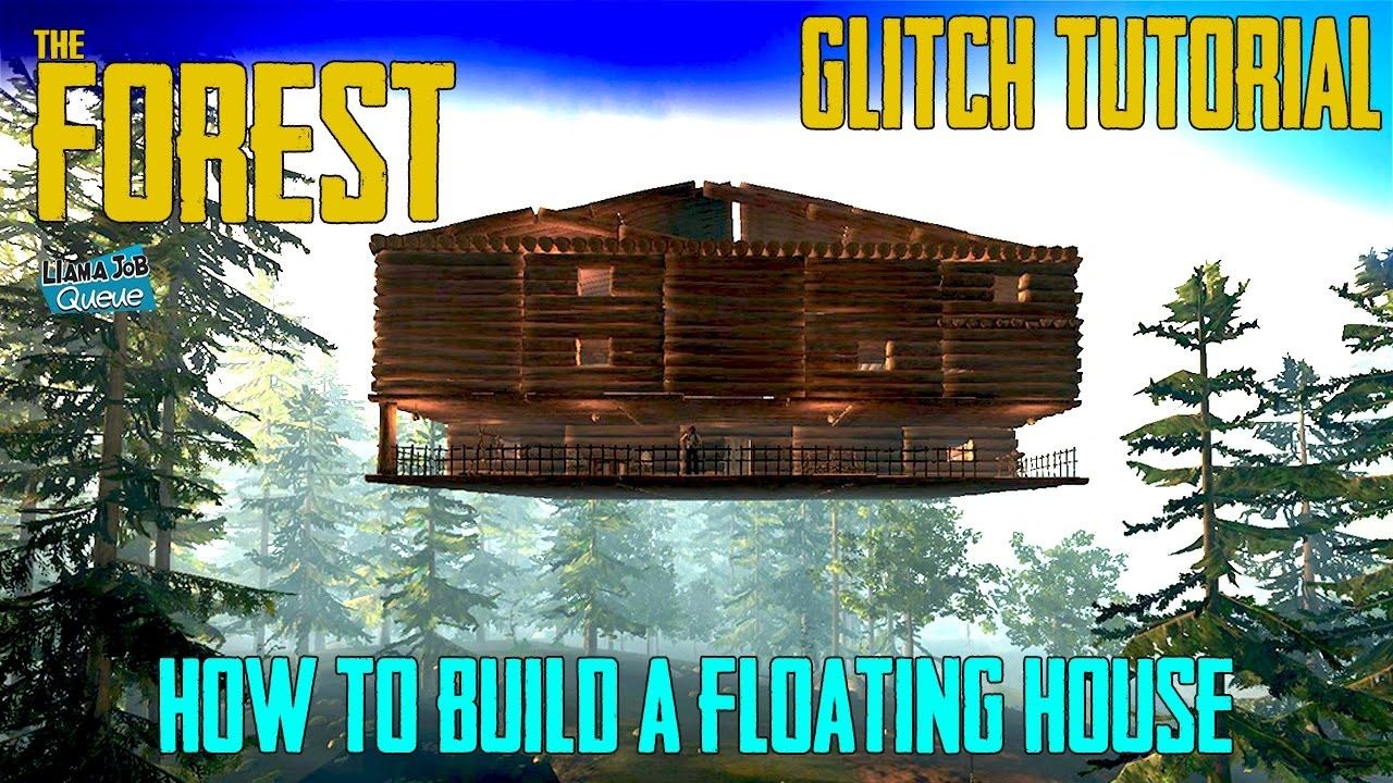 How To Build A Truly Floating House In The Forest Youtube