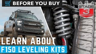 Before you Buy: F150 Leveling Kits Explained!