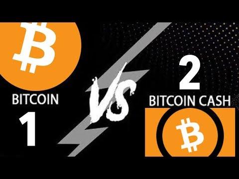 Massive Bitcoin(1) / Bitcoin Cash(2) Pump And Dump | BTC $5500 BCH $2500 | $1000 In 5 min