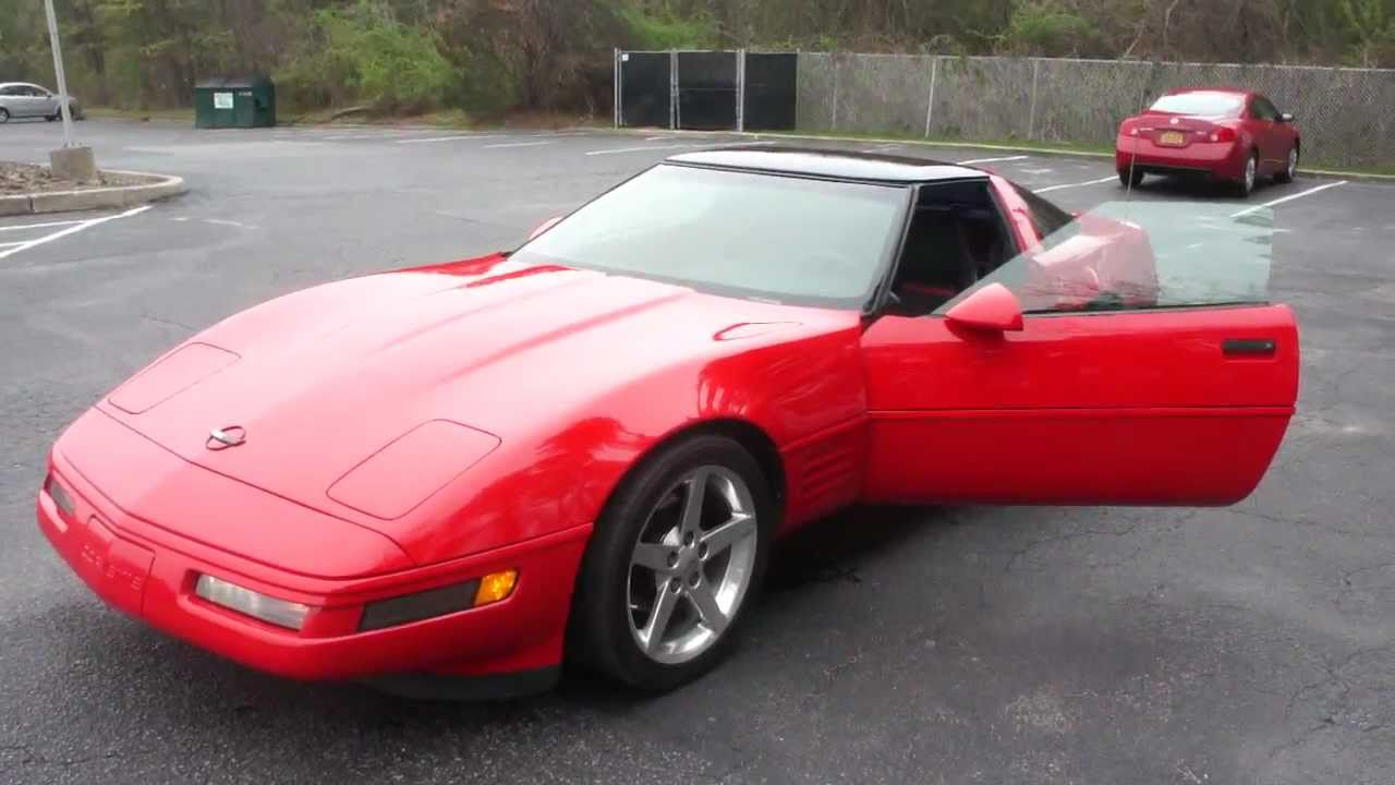 Corvette 1994 chevy corvette : 1994 Chevrolet Corvette Coupe For Sale~Like New~Must See! - YouTube