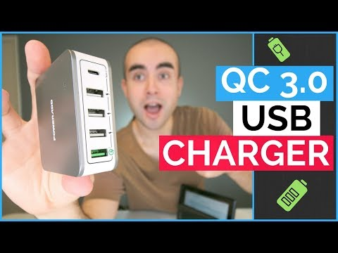 Qualcomm Quick Charge 3.0 Charger - USB Charging Hub Review