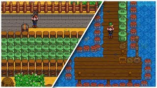 Every Crab Pot For An Entire Year - Stardew Valley