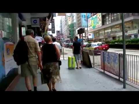 2017-香港自由行-九龍madera木的地酒店步行往佐敦港鐵站沿途實景