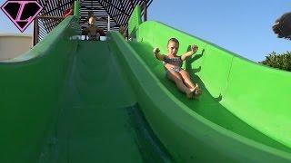 EGYPT HURGADA Jungle Aqua Park Водные горки 2017 ЕГИПЕТ Джангл Аква Парк WATER POOL Slide #3
