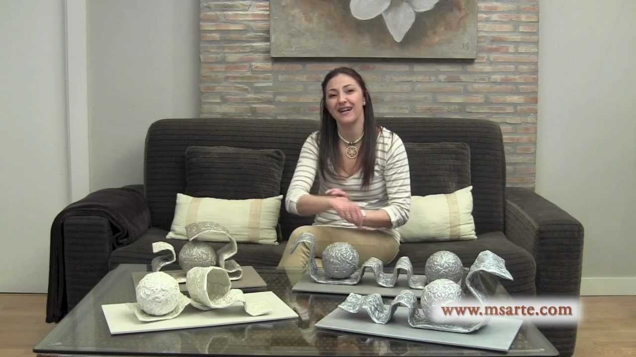 adornos para centro de mesa youtube. Black Bedroom Furniture Sets. Home Design Ideas