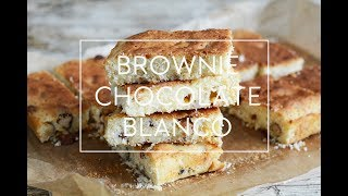 RECETA DE BROWNIE CHOCOLATE BLANCO | BLONDIE | Las María Cocinillas