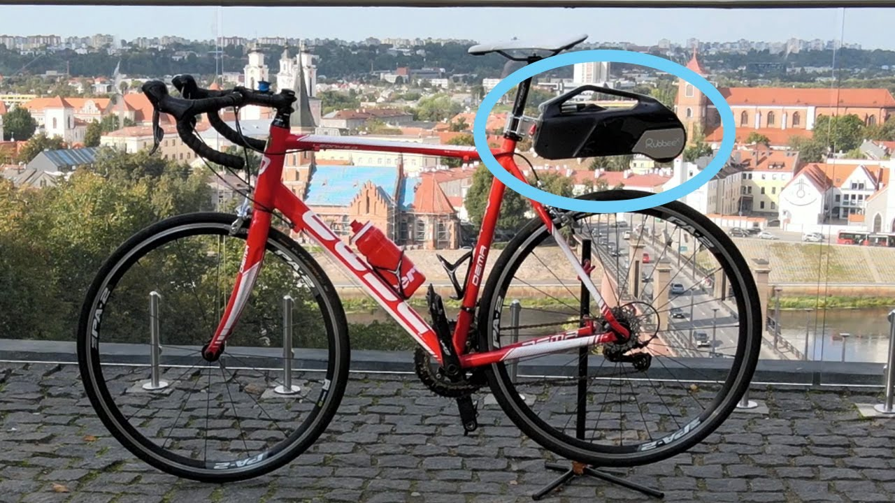 Download What Gadget Revolutionises Bicycle Industry? It's Rubbee  - electric conversion kit for bicycles