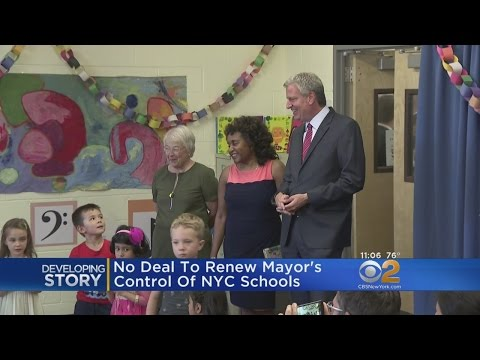 No Deal To Renew Mayor's Control Of NYC Schools
