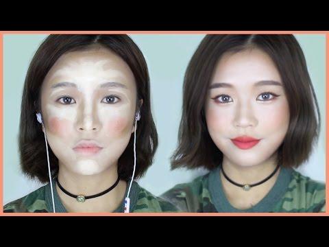 (ENG) 쓱싹 컨투어링 여름 메이크업 // Long-lasting Summer Makeup Look