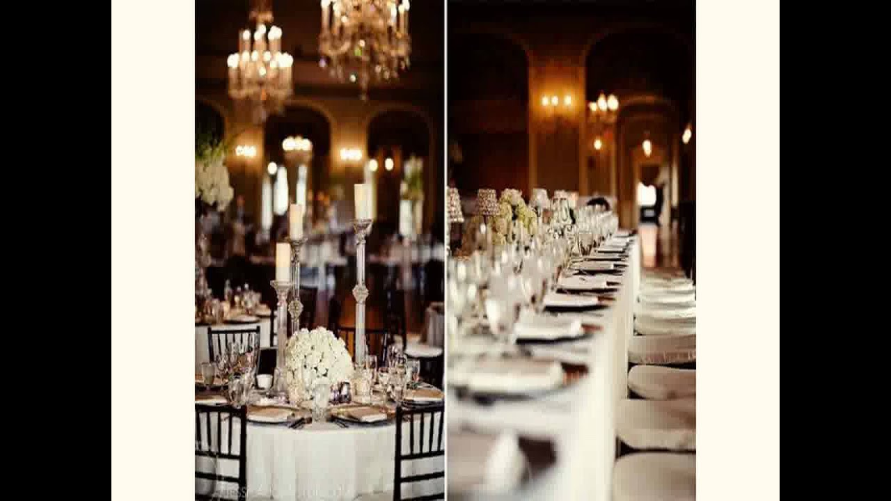 Black And White Wedding Decoration Ideas 2015 Youtube