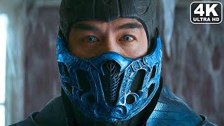 MORTAL KOMBAT Scorpion Vs Sub Zero Rivalry Full Movie All Story Cutscenes (2021) 4K ULTRA HD