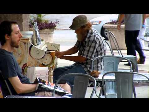 Donald Boone Gould playing Come Sail Away in Sarasota Florida (March 2014)