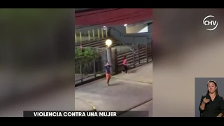 Graban a hombre que habría golpeado a mujer en Valdivia - CHV NOTICIAS