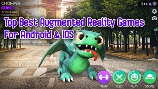 Top Best Augmented Reality Games For Android & IOS