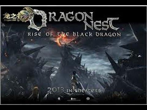 Full Hd Dragon Nest Rise Of The Black Dragon Movie Youtube