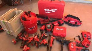 Présentation de mes outils Milwaukee