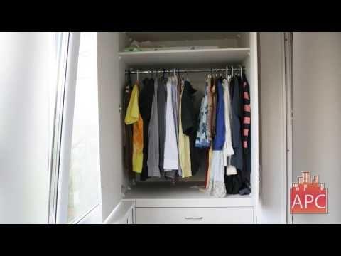 встроенные гардеробные внутренняя отделка