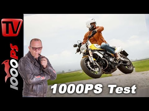 Ducati Scrambler 1100 Test - Retrobike 2018 Vergleich Teil 7 von 8