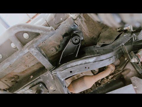 05 -15 Toyota Tacoma Body Mount Relocation Kit - Installation