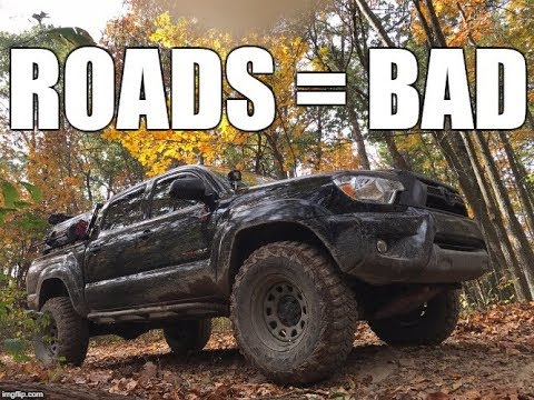 2nd and 3rd Gen Toyota Tacomas Get Offroad at Sleepy Creek West Virginia