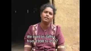 Sri Lanka war crimes and executions - Tamil witness -  I SAW THE KILLERS !