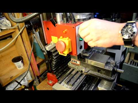 Using Manual Lathe and CamBam/Mach3 Powered CNC Mini Mill to make Part